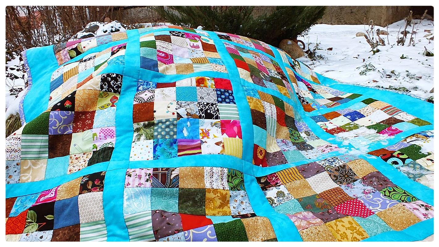 Лоскутное одеяло своими руками мастер класс фото