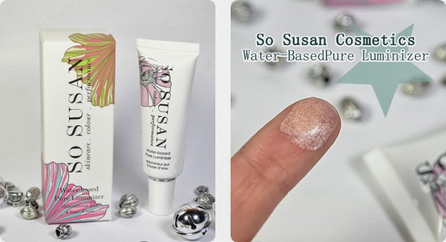 Glossybox Golden Box 2013 So Susan Cosmetics Water-Based Pure Luminizer