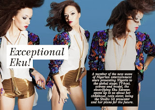 See Eku Edewor Exceptional Cover for Side View Magazine .