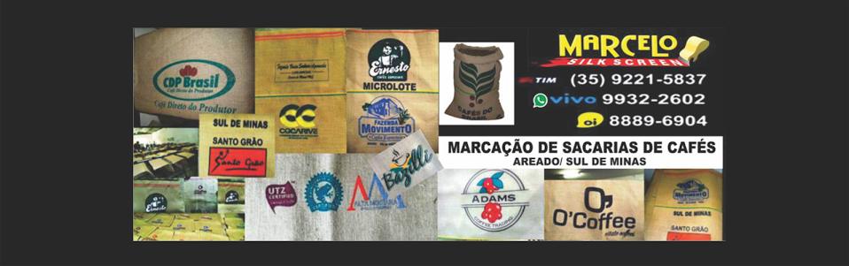 Marcação de Sacarias de Cafés / Marcelo Silk Screen