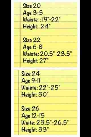 Measurement Size
