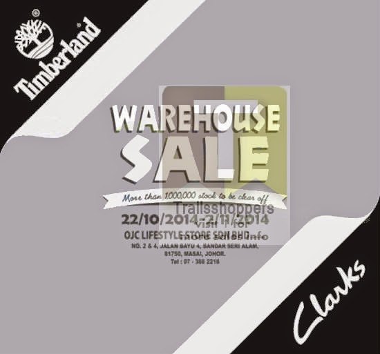 Timberland & Clarks Warehouse Sale 2014