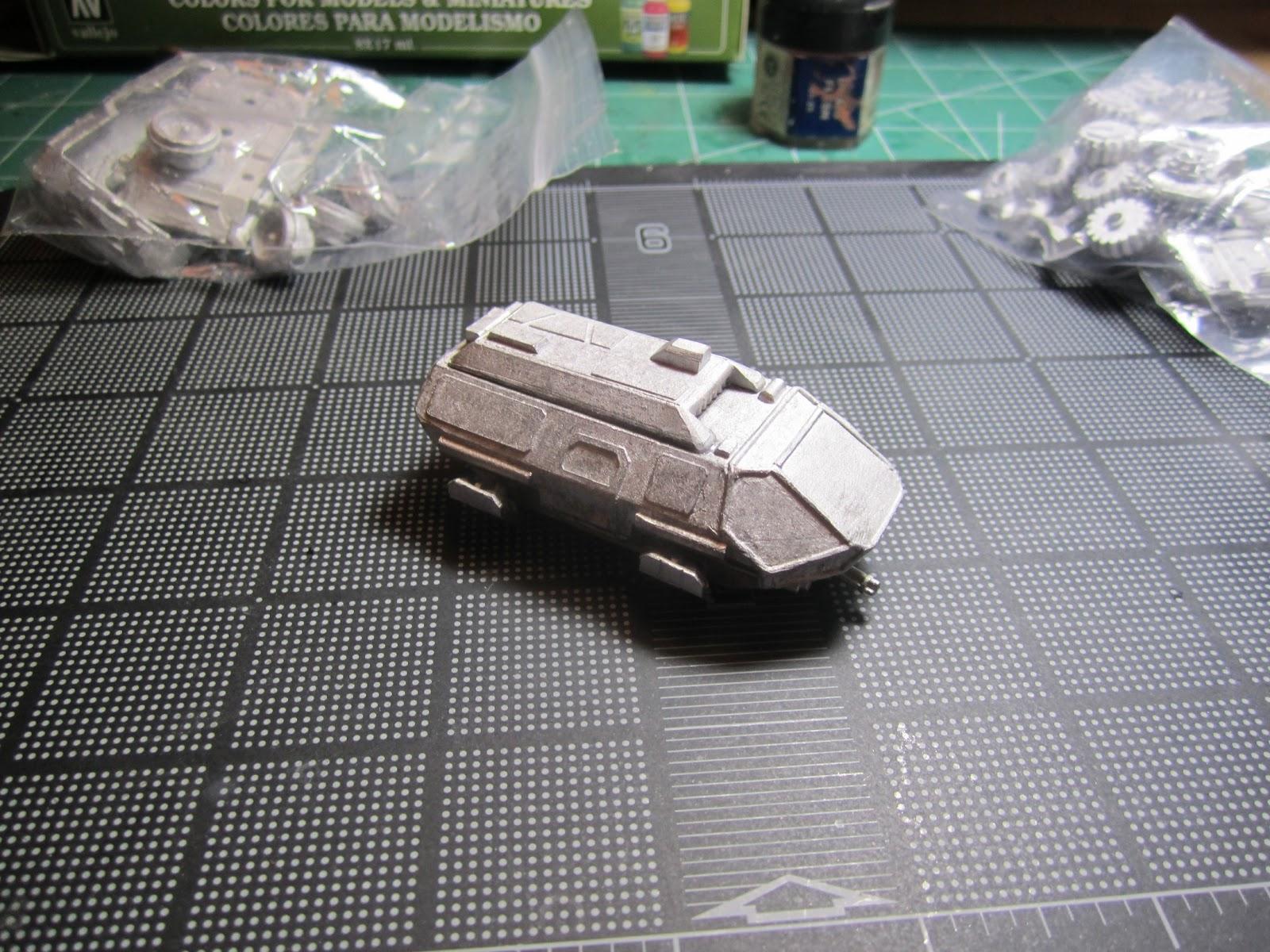 ClearHorizon 15mm Scale Miniatures Blog GZG Grav Van