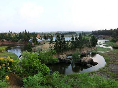 Green Grassland Plain at Penghu Island