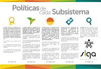 Políticas de cada subsistema