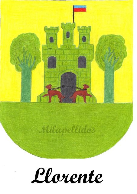 Escudo Apellido Llorente