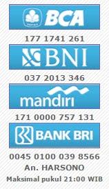 REKENING BANK DEPOSIT
