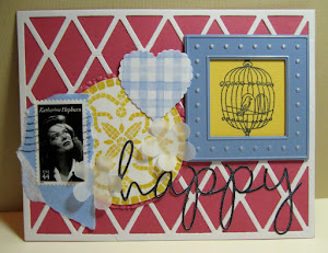 scrap-pile collage