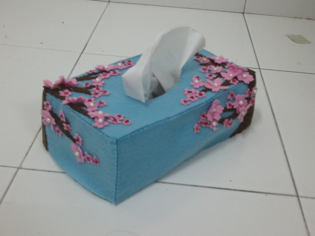 hot chouz felt tissue box cover