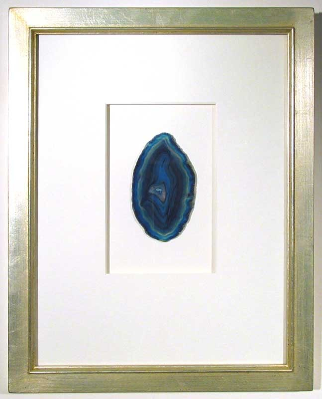 Expensive framed agate art