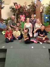 Family of Nine:  Together in Church