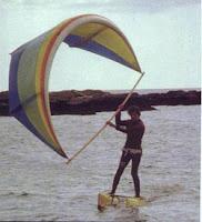 Kitesurf deportes de agua historia