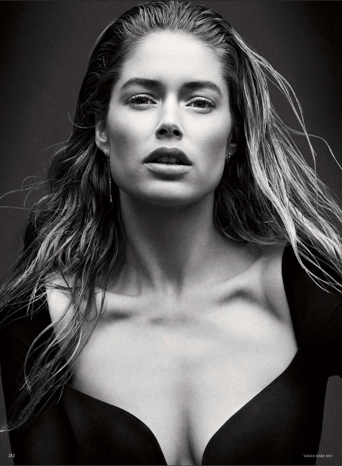 Doutzen Kroes Vogue Germany Magazine March 2013