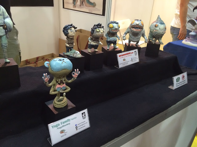 Singapore Toy, Game & Comic Convention STGCC 2015 artist alley 1000 tentacles studio