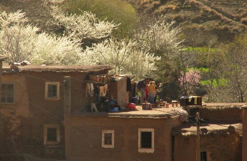 Granelli di sabbia marocco le case dell 39 alto atlante for Le migliori case costruite