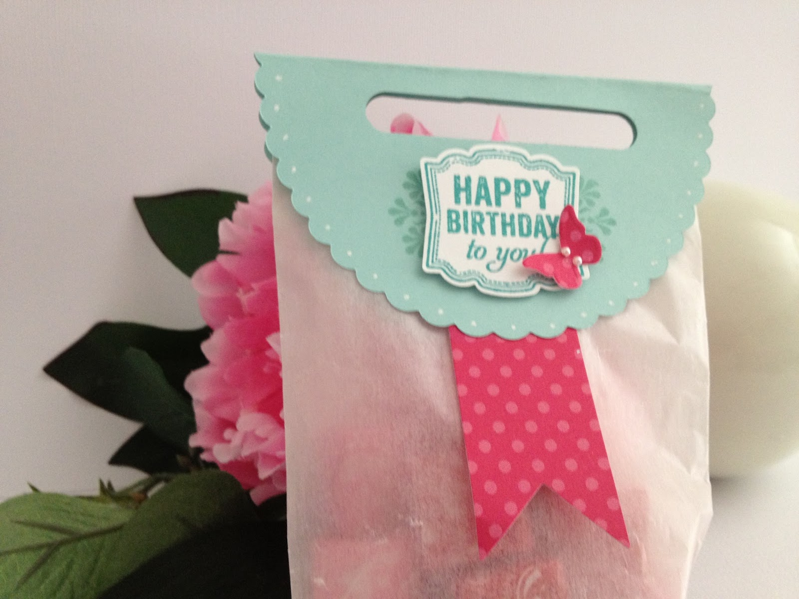 Stampingwithamore: STAMPIN \'UP BIRTHDAY PAPER PROJECT