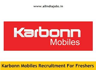 Karbonn Mobiles Careers