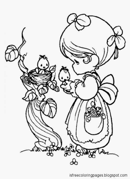 Sweet Children Coloring Pages Free Coloring Pages