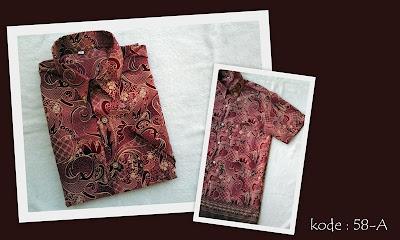 Baju Batik Pria 58-A