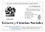 Seminario Género y Ccias. Sociales