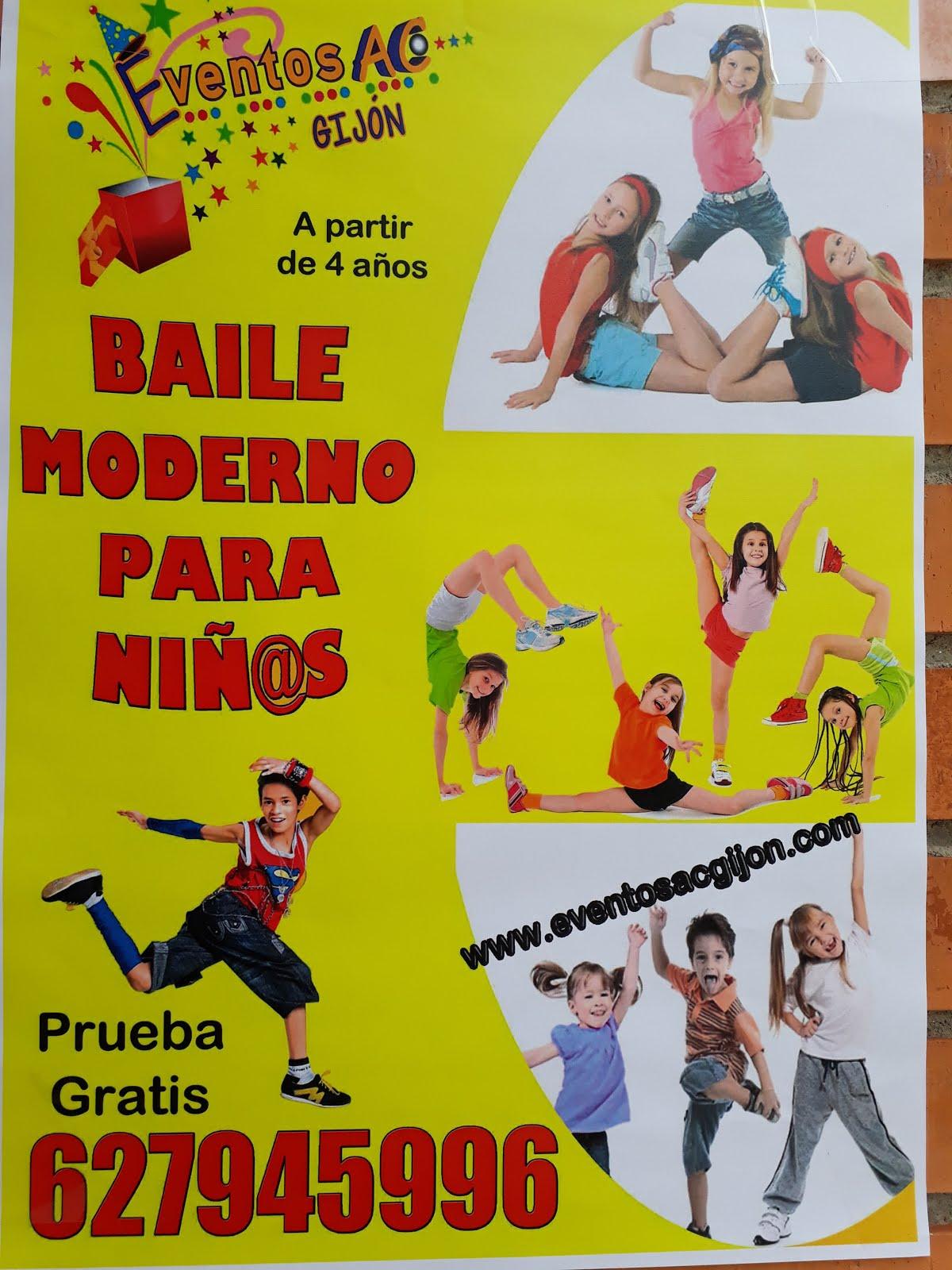 BAILE MODERNO PARA NIÑOS. música libre con licencia Creative Commons