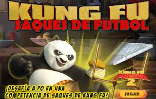 Kung Fu Panda SAQUES DE FÚTBOL