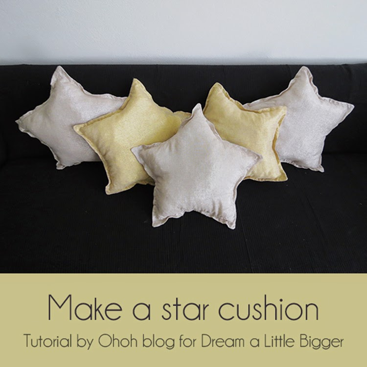 Make a star cushion