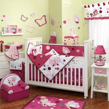Baby Bedding Crib Sets For Girl by Lambs Ivy