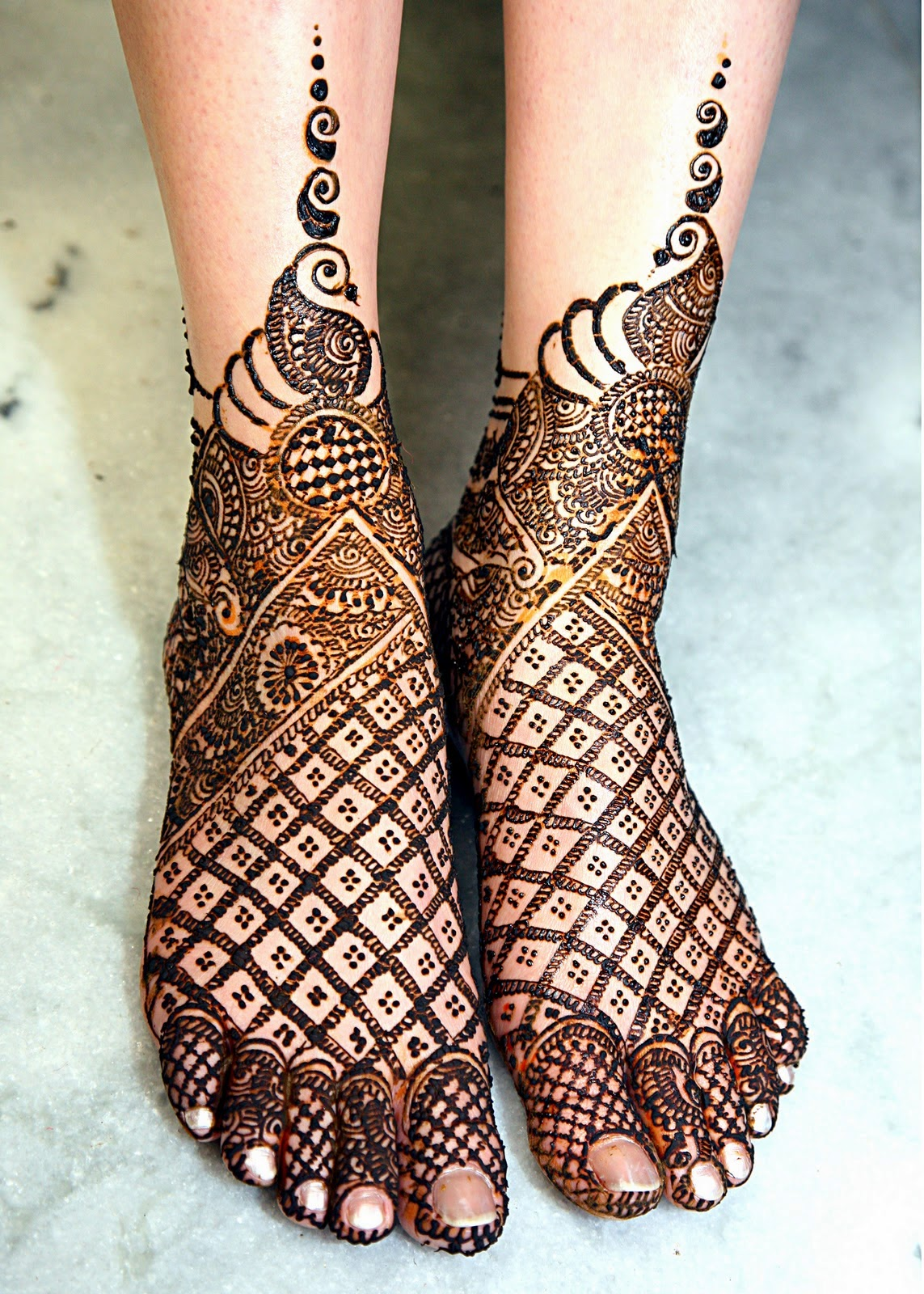 Bridal Foot Mehndi Designs Apni Fankari