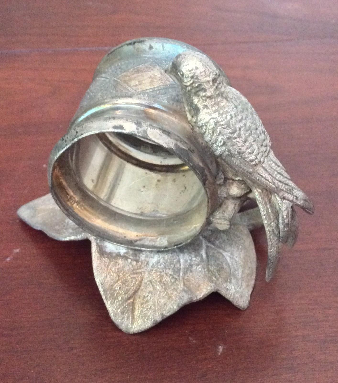 antique figural napkin ring no 4