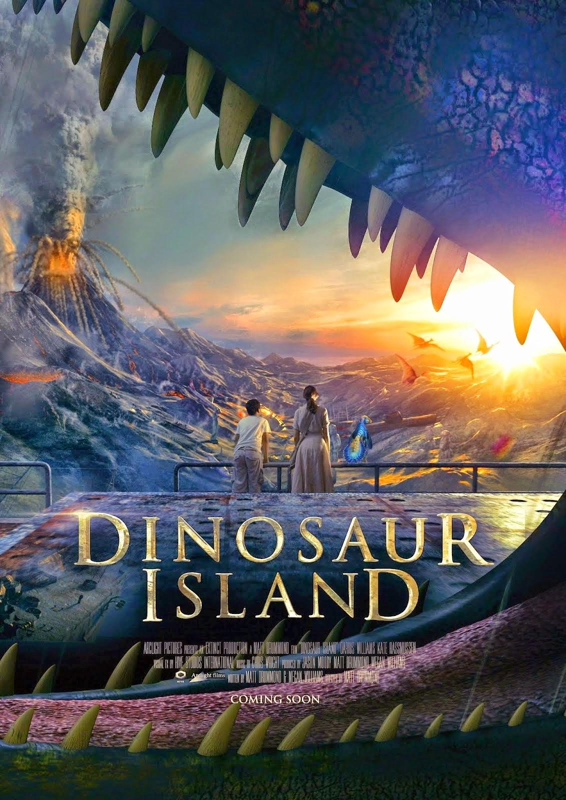 დინოზავრების კუნძული (ქართულად) - Dinosaur Island (2014)