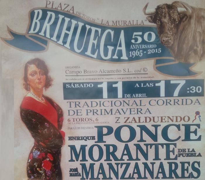 corrida de toros brihuega 2015
