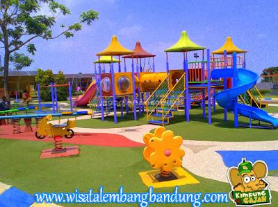 Taman Bermain anak Kampung Gajah Wonderland
