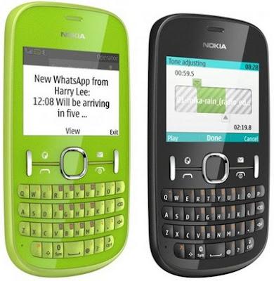 best Nokia Asha 201 Touchscreen Phone