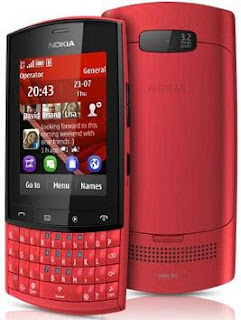Nokia Asha 303 Touch and Type Mobile
