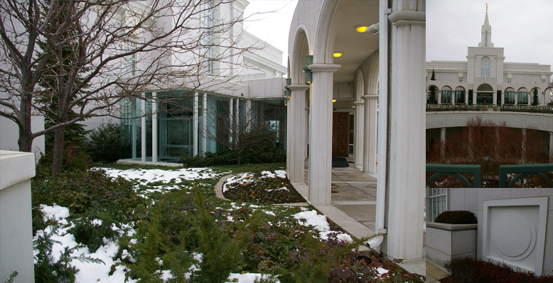 Bountiful Utah Temple, December 12, 2006