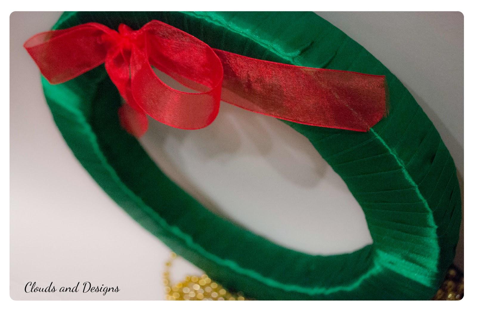 Adviento bloggero dia 13 Corona Navidad