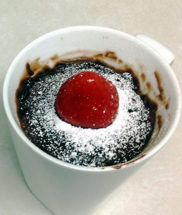 Brownie In A Mug: Single Serve Dessert That Can Be Made Within 5 Minutes