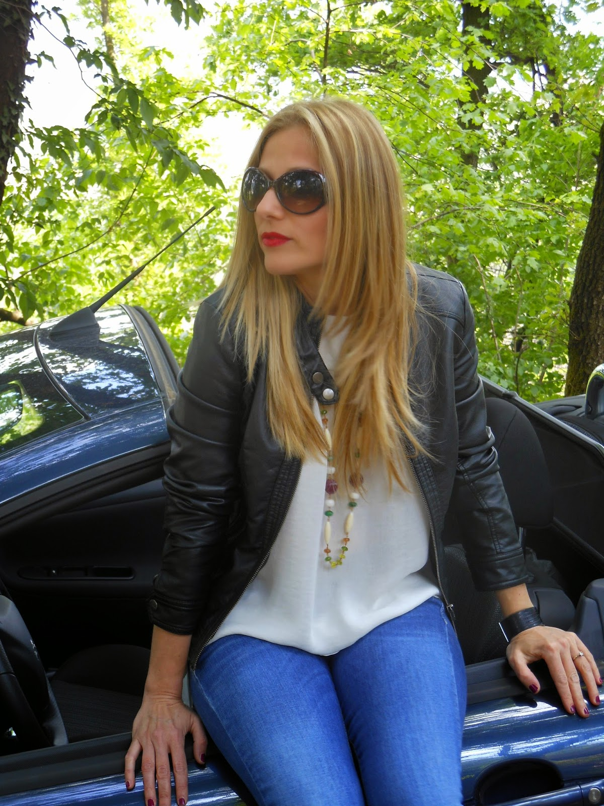 Eniwhere Fashion - Gas - Leather Jacket