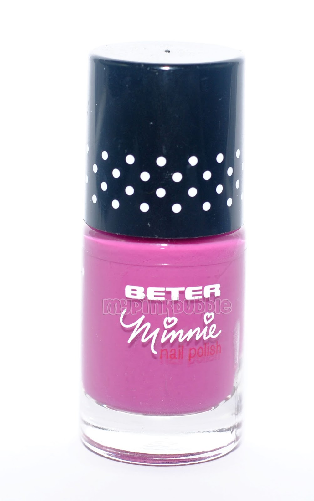 beter minnie make up pintauñas purpura