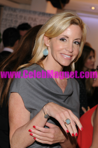 Camille Grammer at Golden Globes awards gifting suite