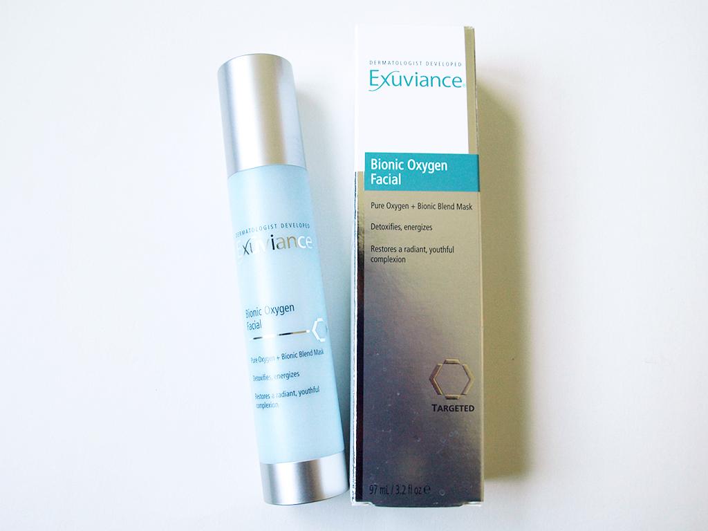 exuviance oxygen mask