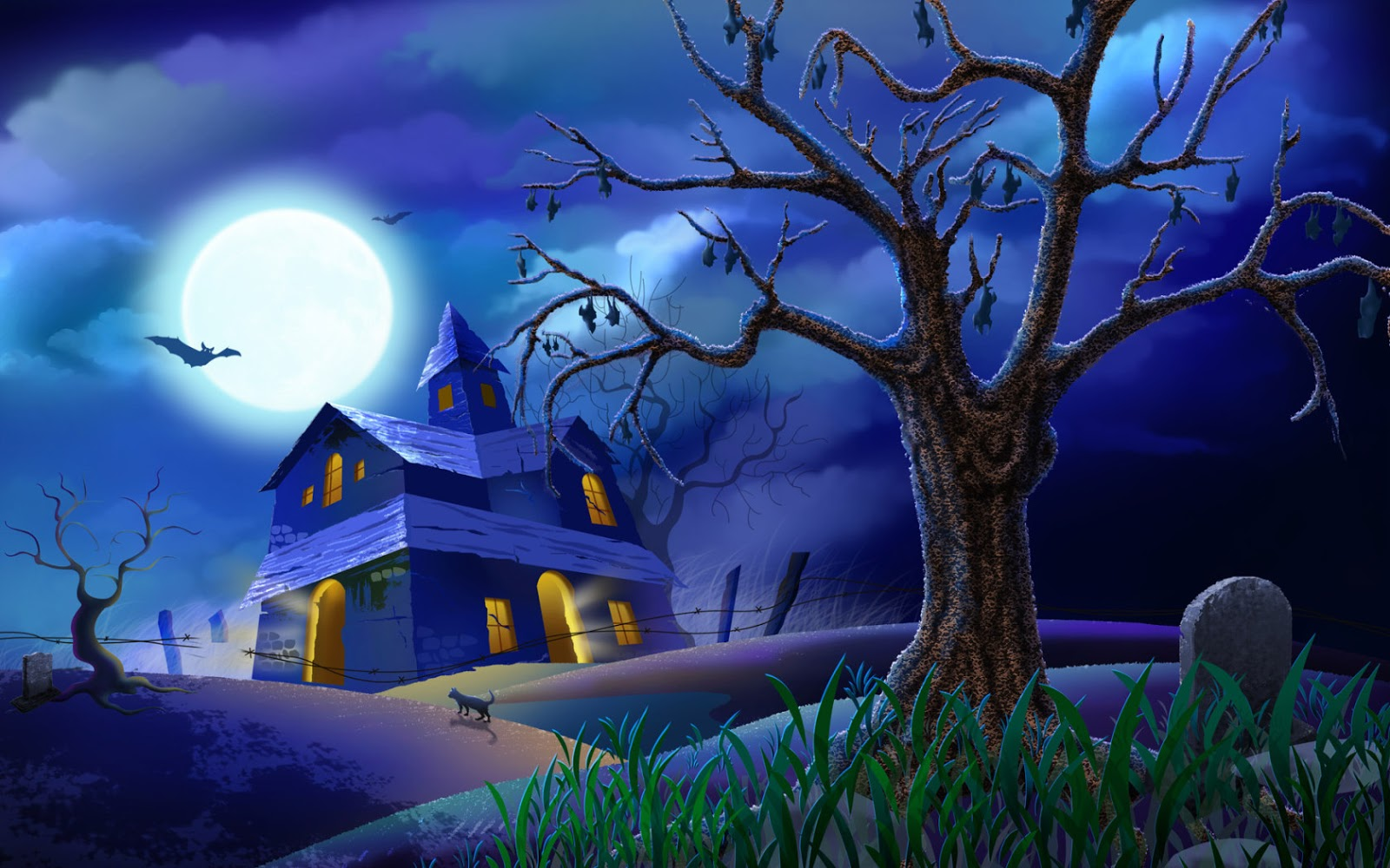 Free 3d Halloween Wallpapers