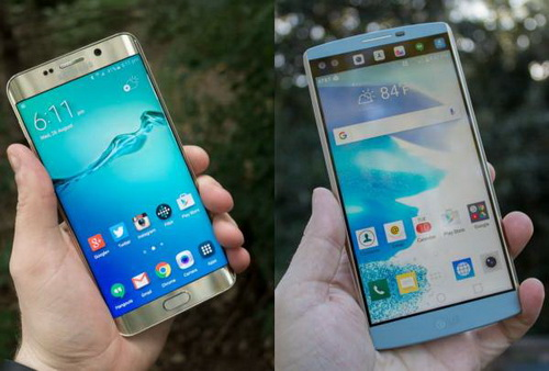 Perbandingan LG V10 vs. Samsung Galaxy S6 Edge Plus