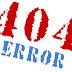 Error 404 Halaman Tidak Ditemukan