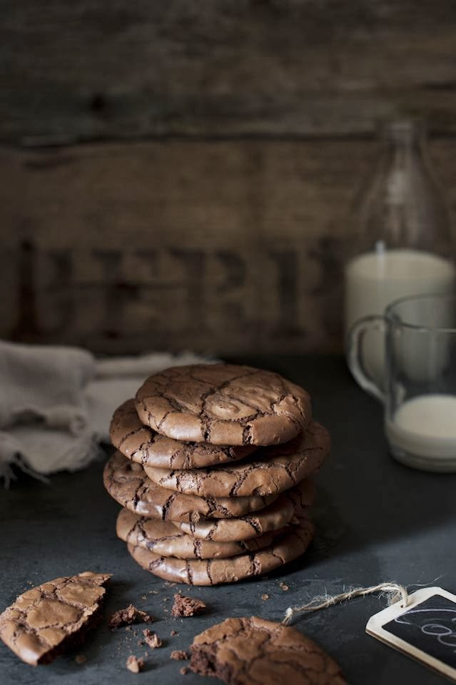 biscottini al cioccolato / chocolate cookies
