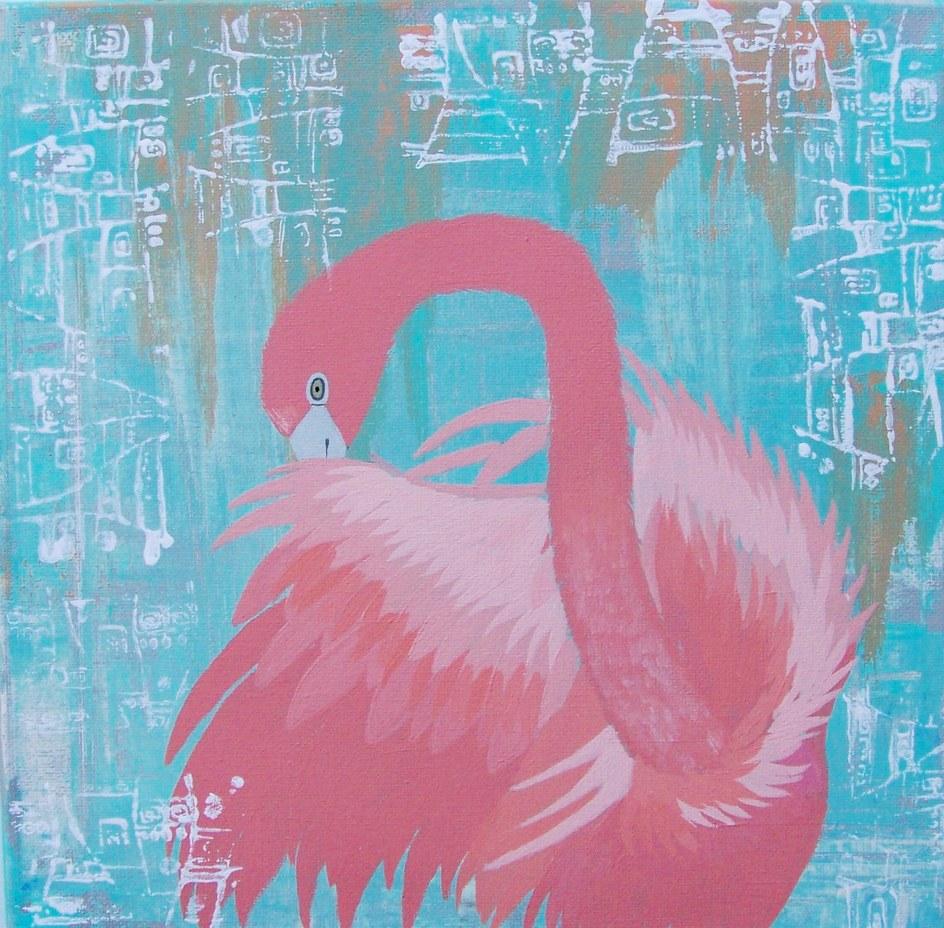 Conscious Art Studios Pink Flamingo Symbolic Totem Meaning