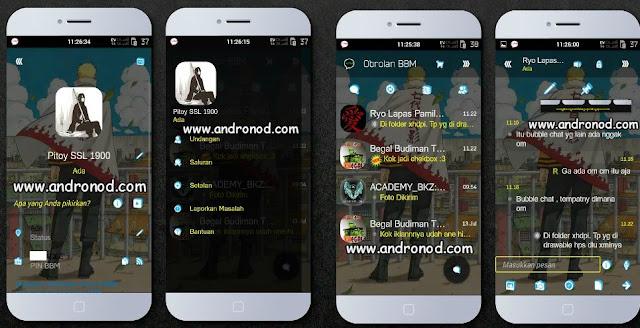BBM Mod I-Chat Material Desing Transparent v2.9.0.49 apk