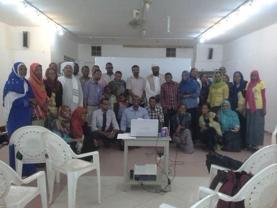 فريق الجمعية السودانية للمعرفة
