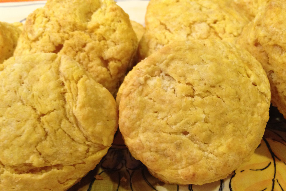 Lisa Cooks: Sweet Potato Biscuits